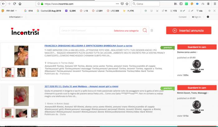 Divertente uno Liner per siti Web di incontri